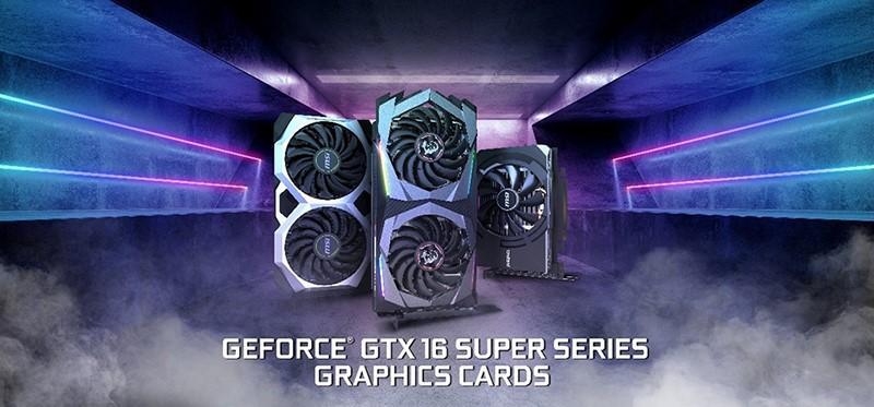 Msi Công Bố Loạt Card Đồ Họa Geforce Gtx 16 Super Series