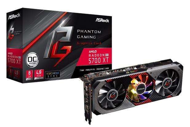 Asrock Công Bố Dòng Card Đồ Họa Phantom Gaming Alliance Radeon Rx 5700