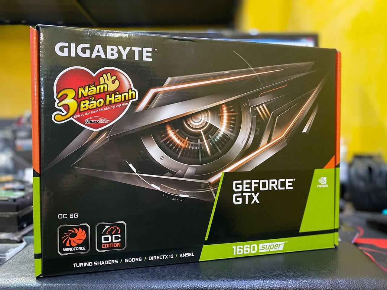 Gigabyte 1660 Super Oc 6gb