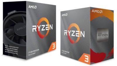 Nên chọn mua loại nào? – Phân biệt Ryzen 3 3100 & 3300X
