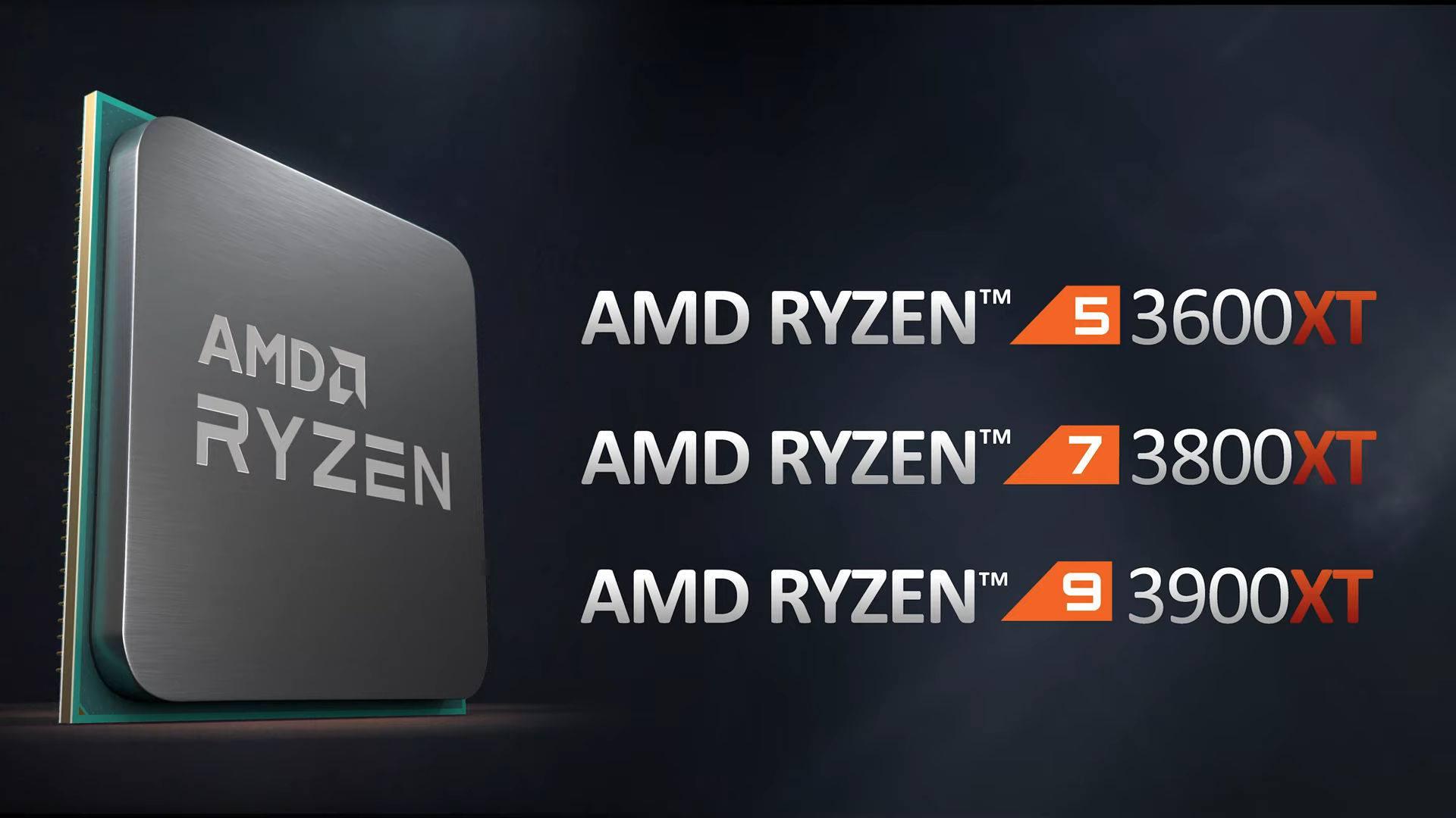 AMD giới thiệu dòng CPU Ryzen 3000XT series mới