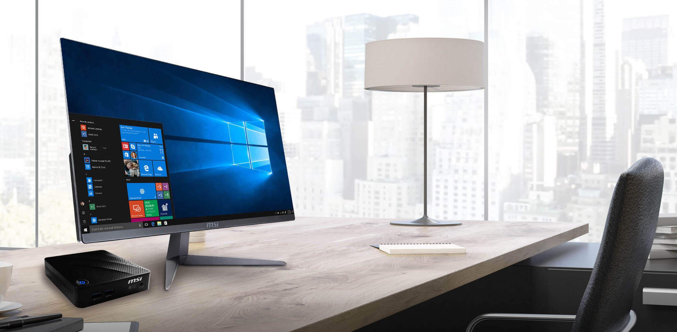 MSI ra mắt desktop AIO với CPU Intel gen 10