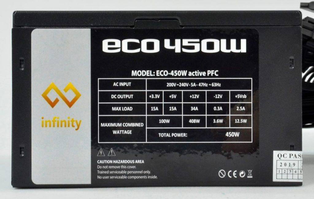 Infinity Eco 450w 38