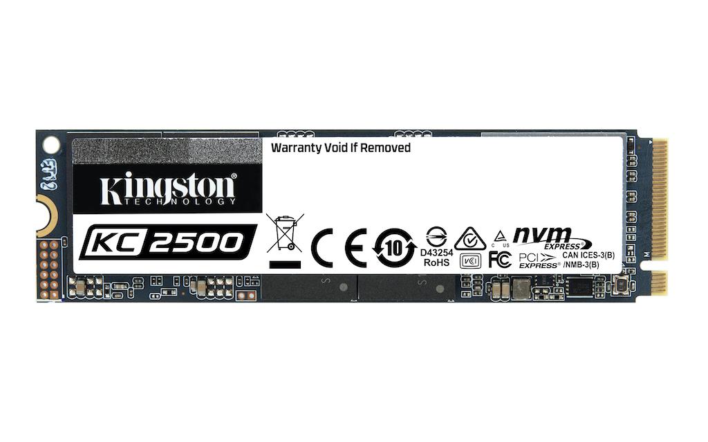 Kingston ra mắt ổ SSD NVMe PCIe KC2500