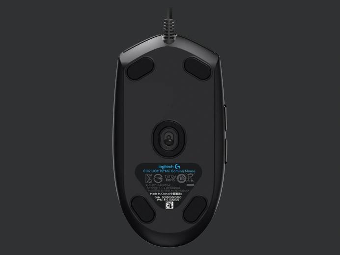Logitech G102 Lightsync Rgb Black 08