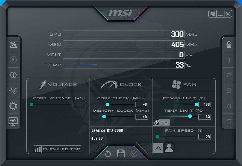 Msi Rtx 2060 Ventus Xs Oc 6gb Gddr6 15