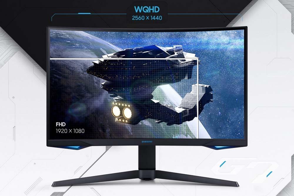 Samsung Odyssey G7 Gaming Monitor (10 Of 20)