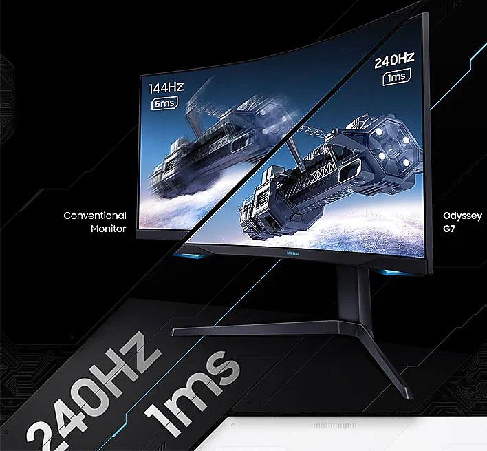 Samsung Odyssey G7 Gaming Monitor (11 Of 20)