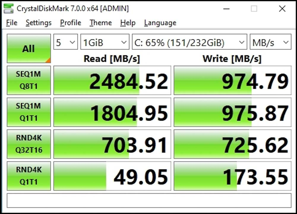 Wd Blue Sn550 250gb Nvme Ssd (10 Of 8)