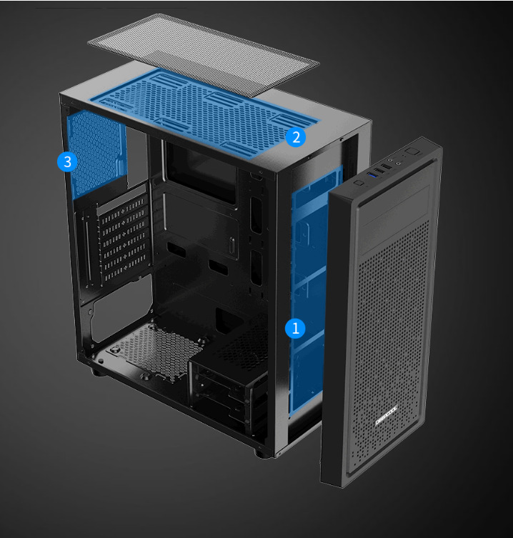Deepcool E Shield Perfect Ventilation (2)