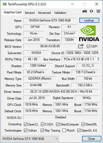 Galax Geforce Gtx 1060 Oc 6gb Redblack 05