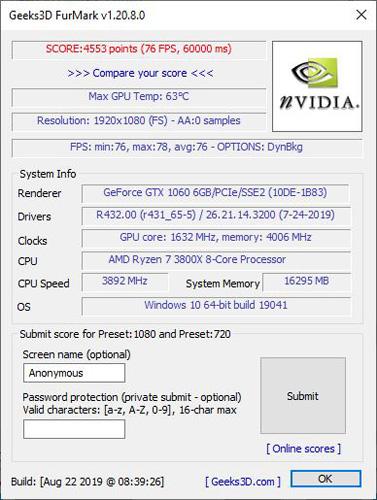 Galax Geforce Gtx 1060 Oc 6gb Redblack 07