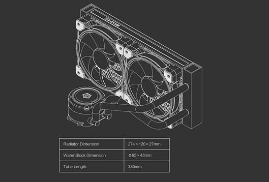 Id Cooling Chromaflow 240 Rgb (8)