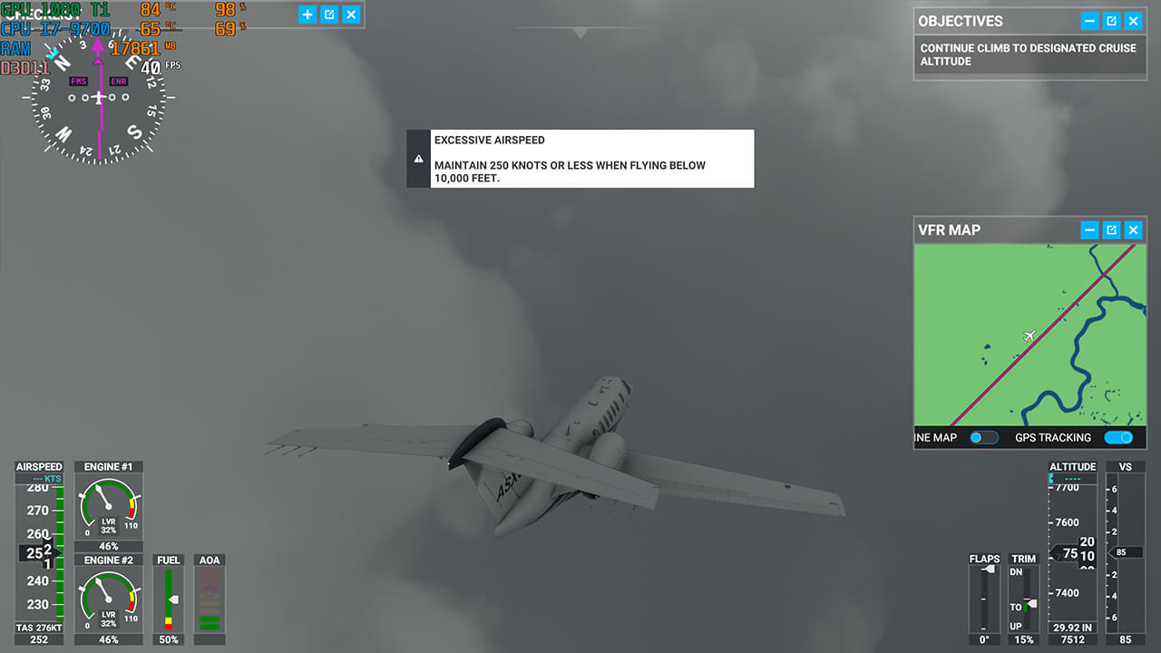Infinity Predator Ultra Flightsimulator 03