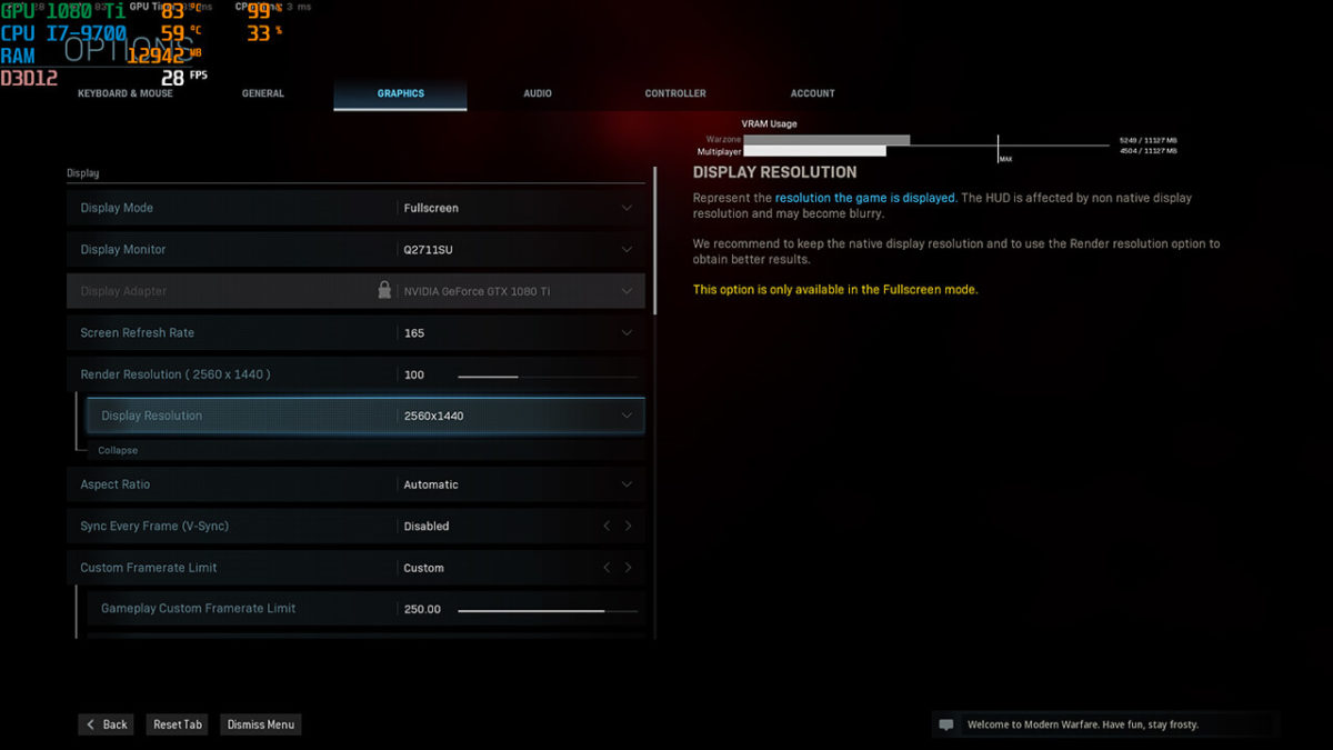 Infinity Predator Ultra Modernwarfare 01