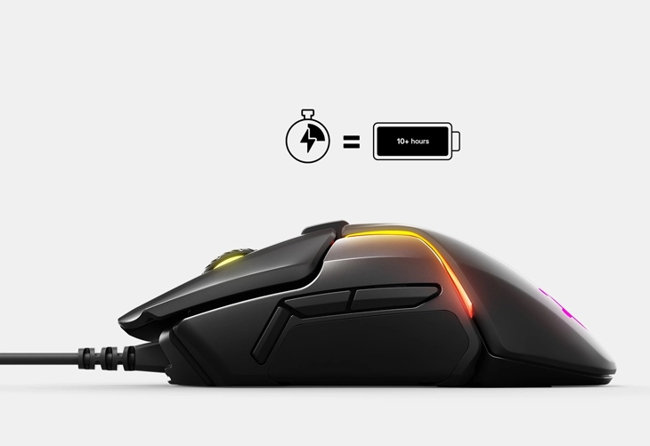 Steelseries Rival 650 Wireless Optical Gaming Mouse 730px V2