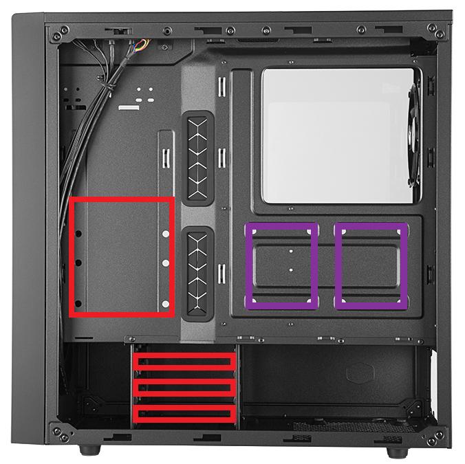 Case Cooler Master Masterbox Nr600 34
