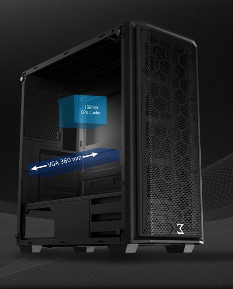 Review Case Xigmatek Mercury 09