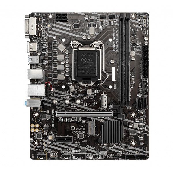 Review Mainboard Msi H410m A 04