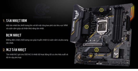 Asus Tuf Gaming B460m – Plus04