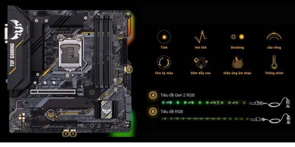 Asus Tuf Gaming B460m – Plus10