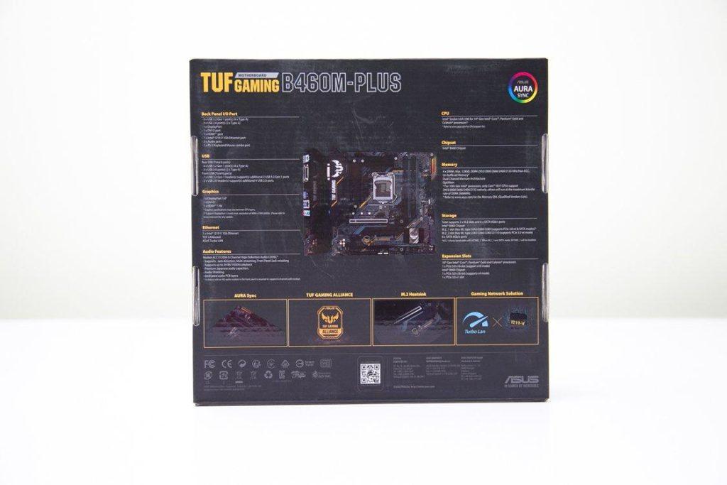 Asus Tuf Gaming B460m – Plus13