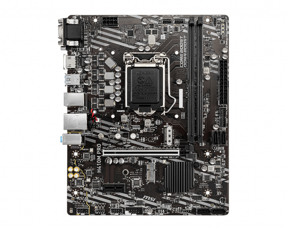 Review Mainboard Msi H410m – Pro01