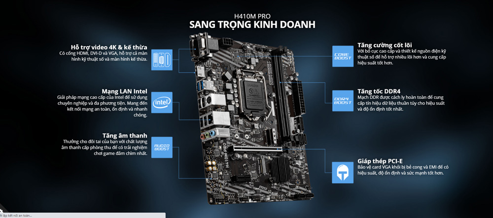 Review Mainboard Msi H410M – Pro12
