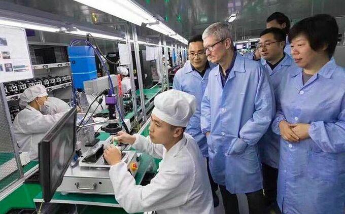Apple Foxconn Viet Nam