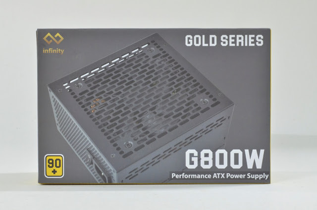 Review Nguồn (Psu Inf-G800W) Infinity Gold 800W