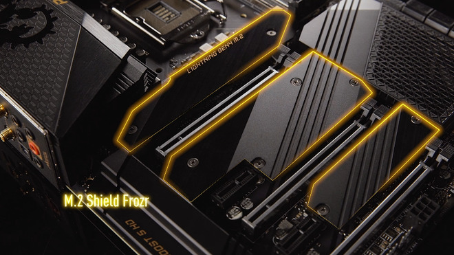 MSI ra mắt loạt bo mạch chủ Intel 500 series (MSI Z590)