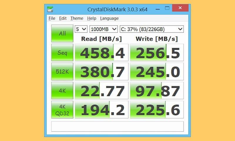 5 phần mềm test tốc độ đọc ghi ổ cứng SSD/HDD miễn phí tốt nhất hiện nay