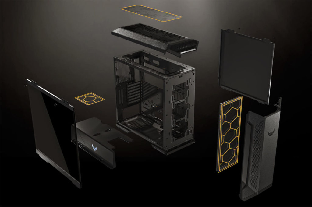 Asus Tuf Gaming Gt501Vc Mid Tower Gaming Case Features 06
