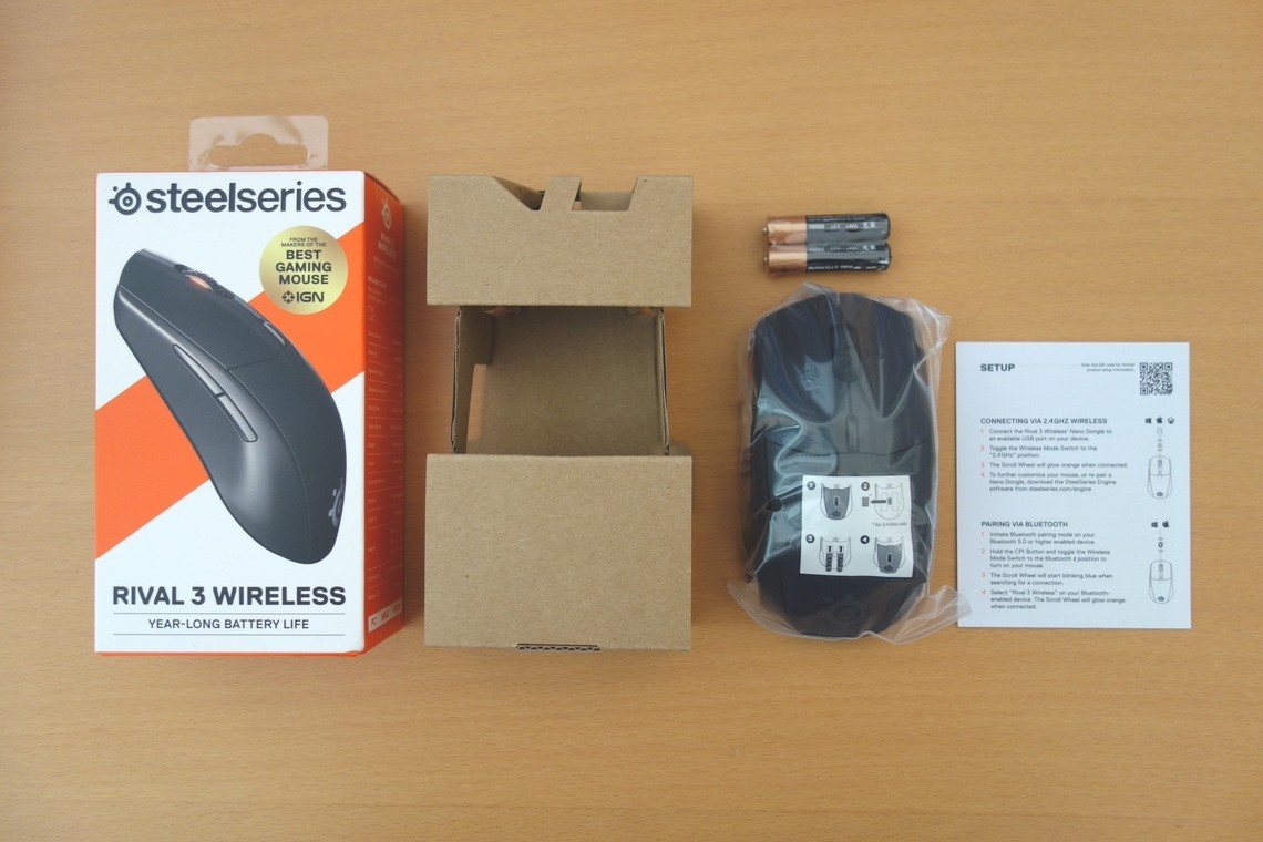 Steelseries Rival 3 Wireless 03