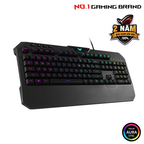 Review Nhanh Bàn Phím Asus Tuf Gaming K5 Rgb12