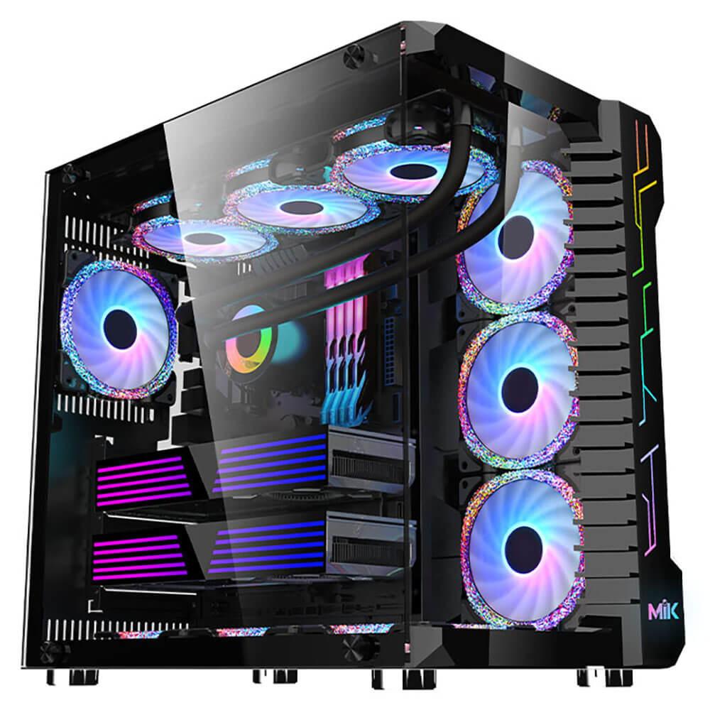 Mik Lv07 – Black – Mid Tower Case Image001