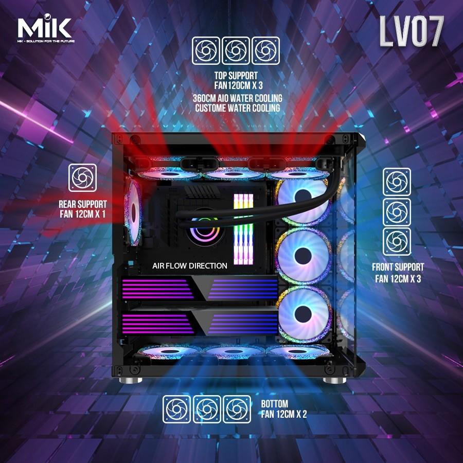 Mik Lv07 – Black – Mid Tower Case Image003