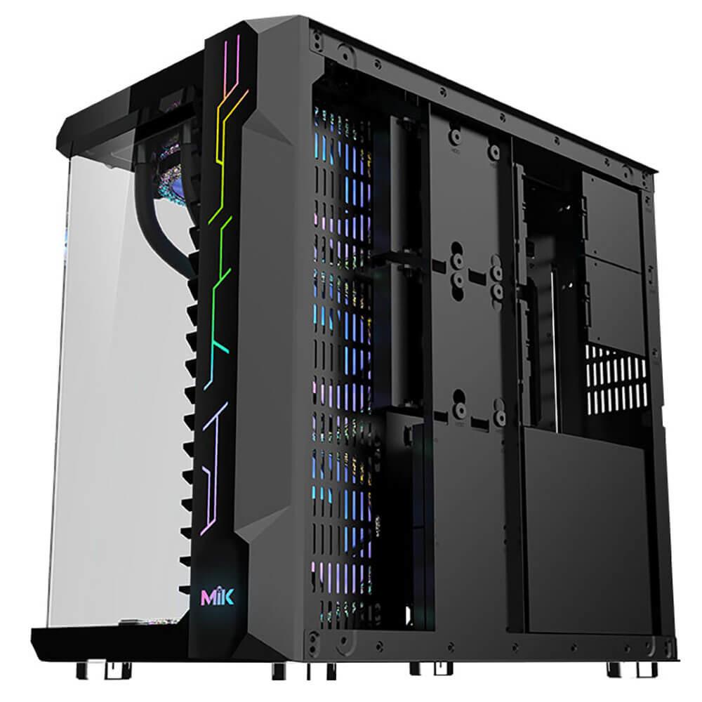Mik Lv07 – Black – Mid Tower Case Image004