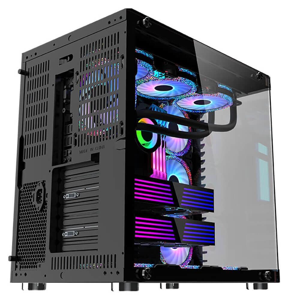 Mik Lv07 – Black – Mid Tower Case Image005