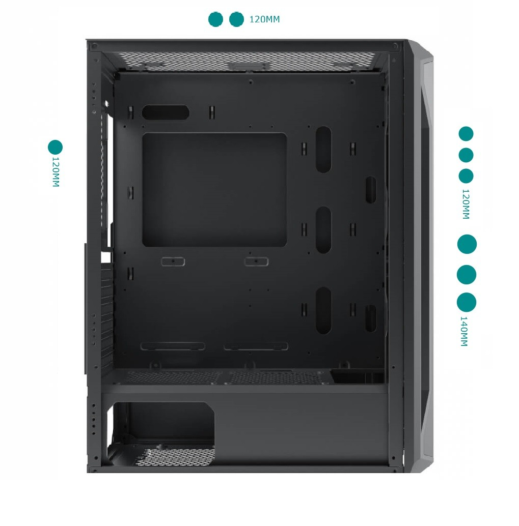 Review Case Xigmatek Gaming X 3Fx – Mid Tower 03