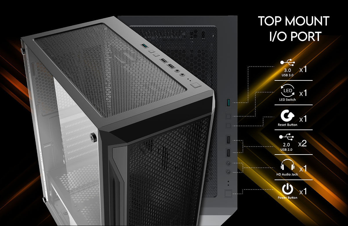 Review Case Xigmatek Gaming X 3Fx – Mid Tower 04