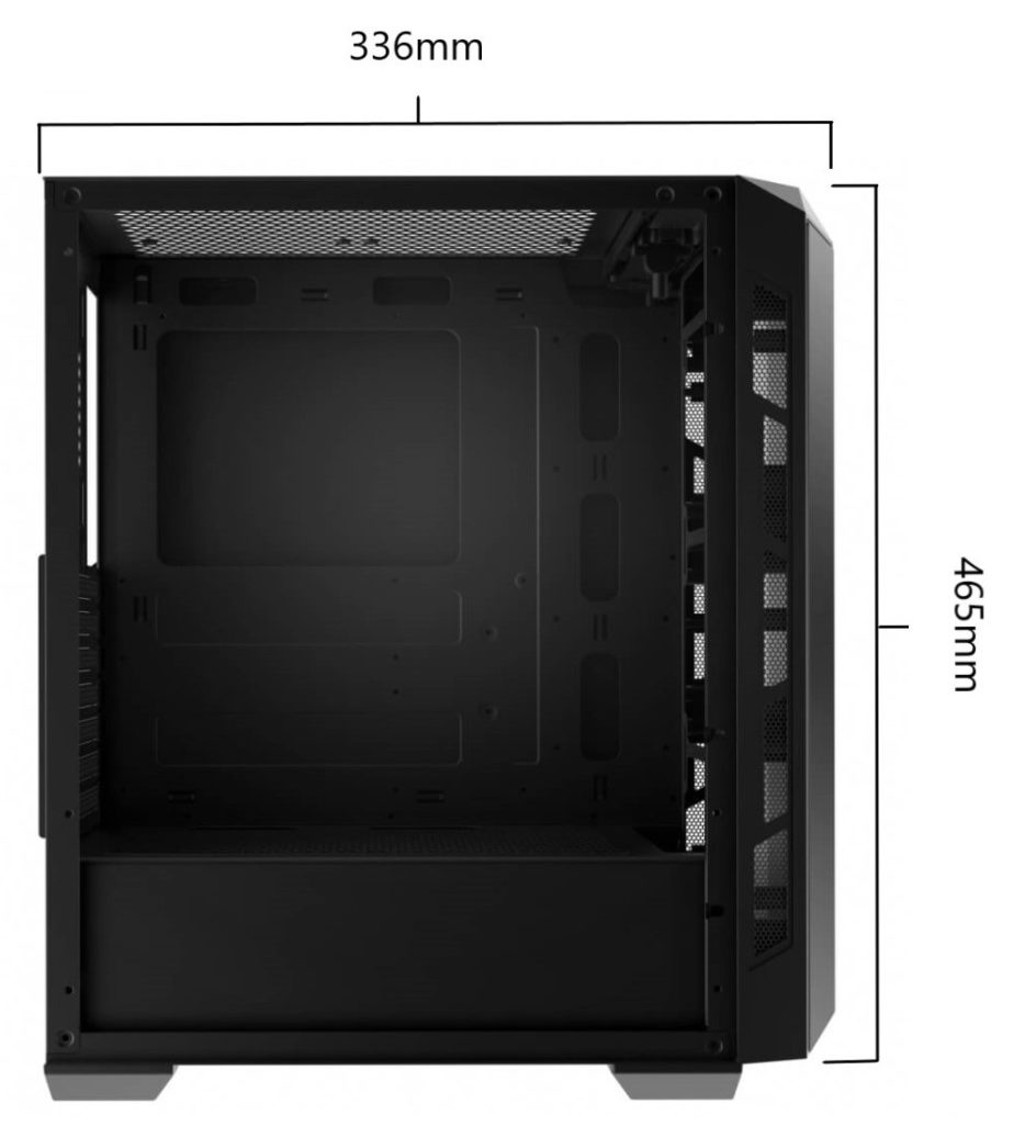 Xigmatek Triple X - Premium Atx - Mid Tower Case - Giá Bình Dân