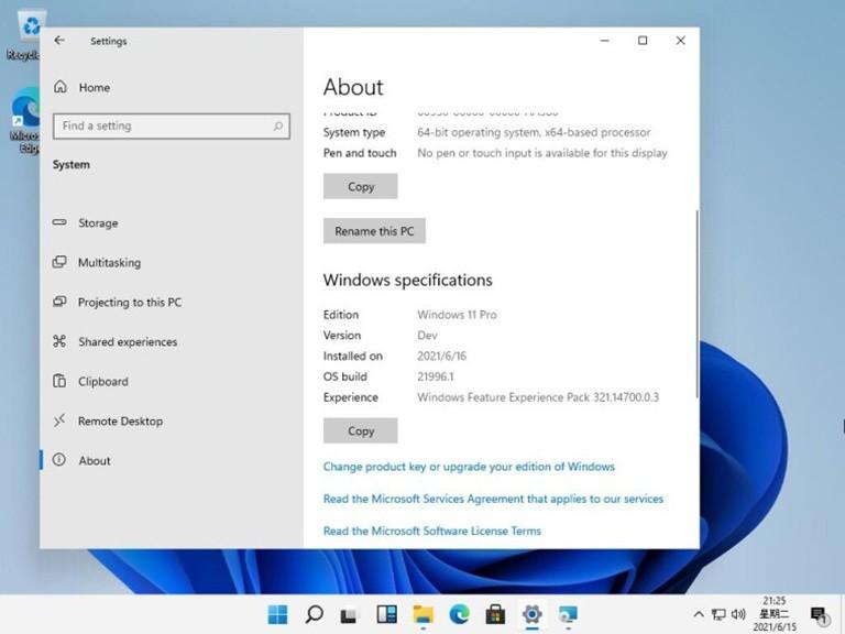 Lộ Ảnh Chụp Màn Hình Windows 11
