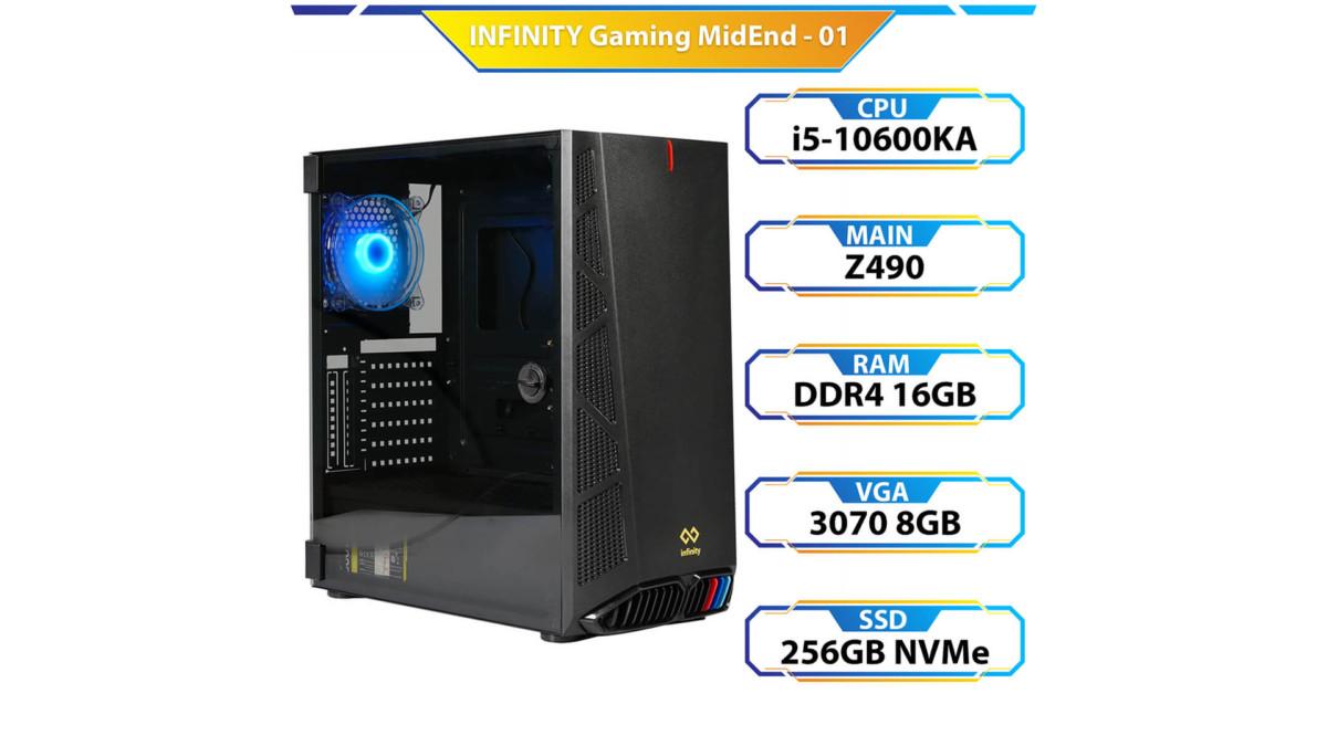 Máy Bộ Td Infinity Gaming Midend 01