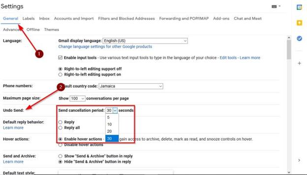Cách Thu Hồi Thư Đã Gửi Trên Gmail