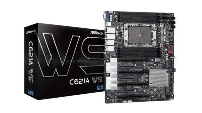 ASRock ra mắt Bo mạch chủ C621A WS dành cho Sever và Máy trạm