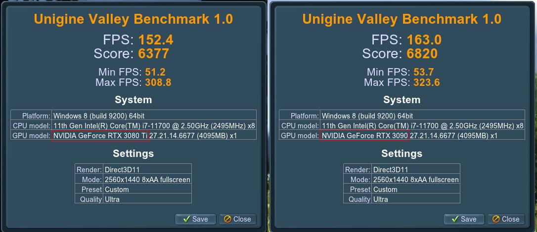 So Sánh Nhanh Hiệu Năng Evga Rtx 3080Ti Và 3090 Ftw3 Ultra Gaming