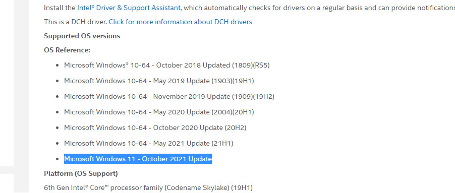 Intel Vô Tình Để Lộ Thời Điểm Phát Hành Windows 11