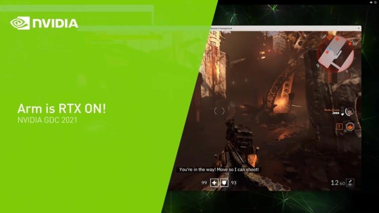 Nvidia Kích Hoạt Rtx Ray Tracing Trên Game Dành Cho Hệ Thống Arm